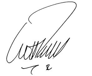 Handtekening Pascal Smets